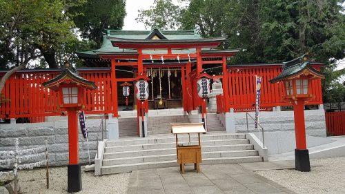 馬橋稲荷神社のパワースポット拝殿