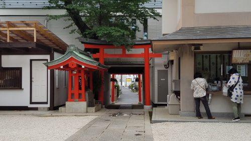 馬橋稲荷神社のパワースポット東鳥居