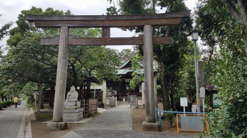 荏原神社ご利益
