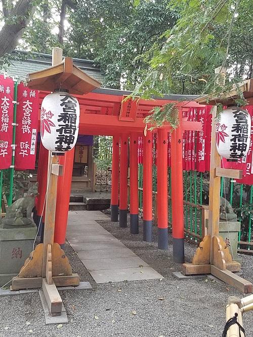 大厩八幡宮大宮稲荷神社