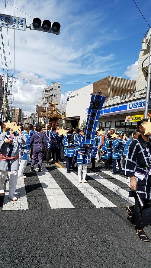 北澤八幡神社2019年例大祭の様子