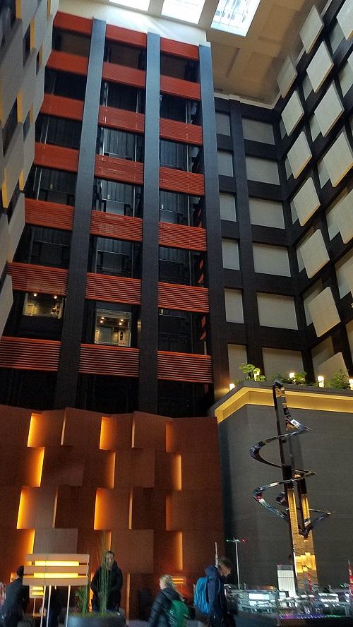 ホテルメトロポリタン丸の内のロビーの様子