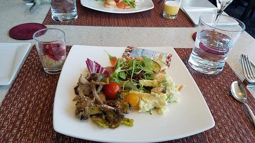 ホテルメトロポリタン丸の内tenqooランチビュッフ前菜