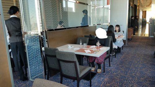 ホテルメトロポリタン丸の内tenqooランチビュッフ席